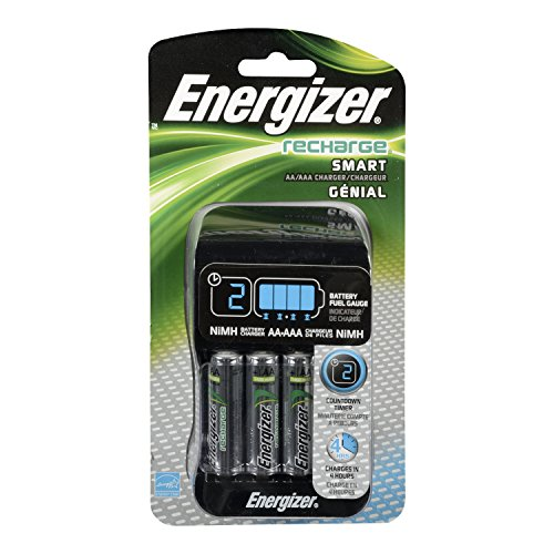 Energizer Rechargeable Charger Batteries Included