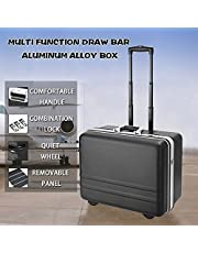 Bvivoa Watertight Rolling Tool Box All-in-one ABS Tools Hard Case Easy Carry on Rolling Suitcase Heavy Duty, Locking System and Comfortable Grip Handle (510x 400 x 280mm)