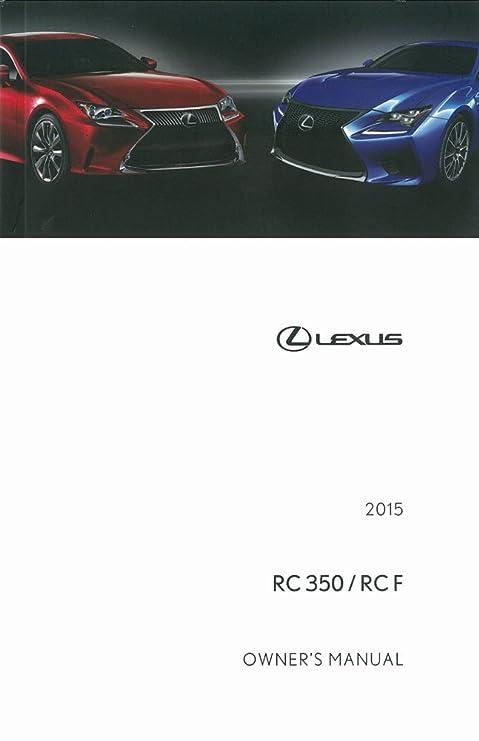 amazon com bishko automotive literature 2015 lexus rc 350 rcf rh amazon com