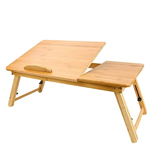 Tao-Miy Mesa plegable, Bamboo Mini Mesa, Bandeja ordenador, puede ...