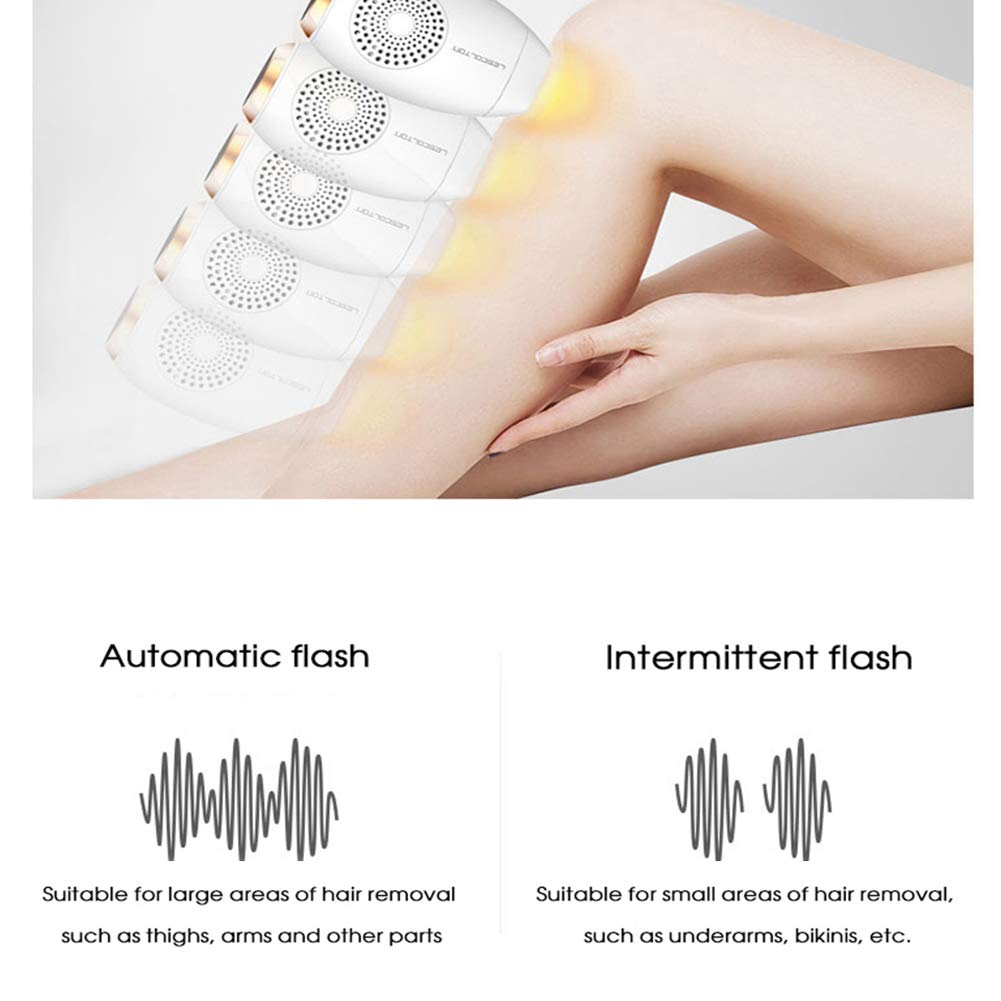 Amazon.com: JMung IPL Hair Remover Home Electrolysis Permanent LCD ...