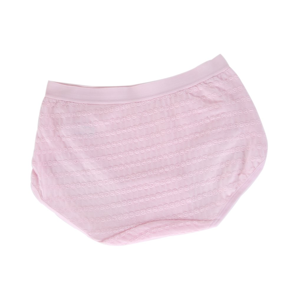 VictorySweety Big girls Young Solid Color Middle Waist Panties Briefs 4 Pieces