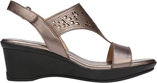 Naturalizer Womens Veda Wedge Sandal,