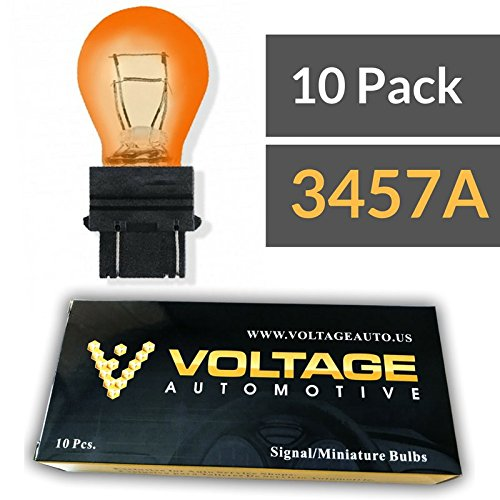 10 Pack Voltage Automotive Standard Replacement 3157 Automotive Brake Light Turn Signal Side Marker Tail Light Bulb
