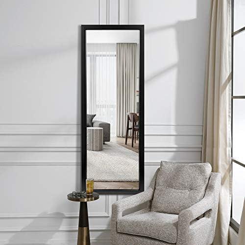 MIRUO Full Length Mirror Decor Wall Mounted Mirror Floor Mirror Dressing Mirror Make Up Mirror Bathroom/Bedroom/Living Room/Dining Room/Entry