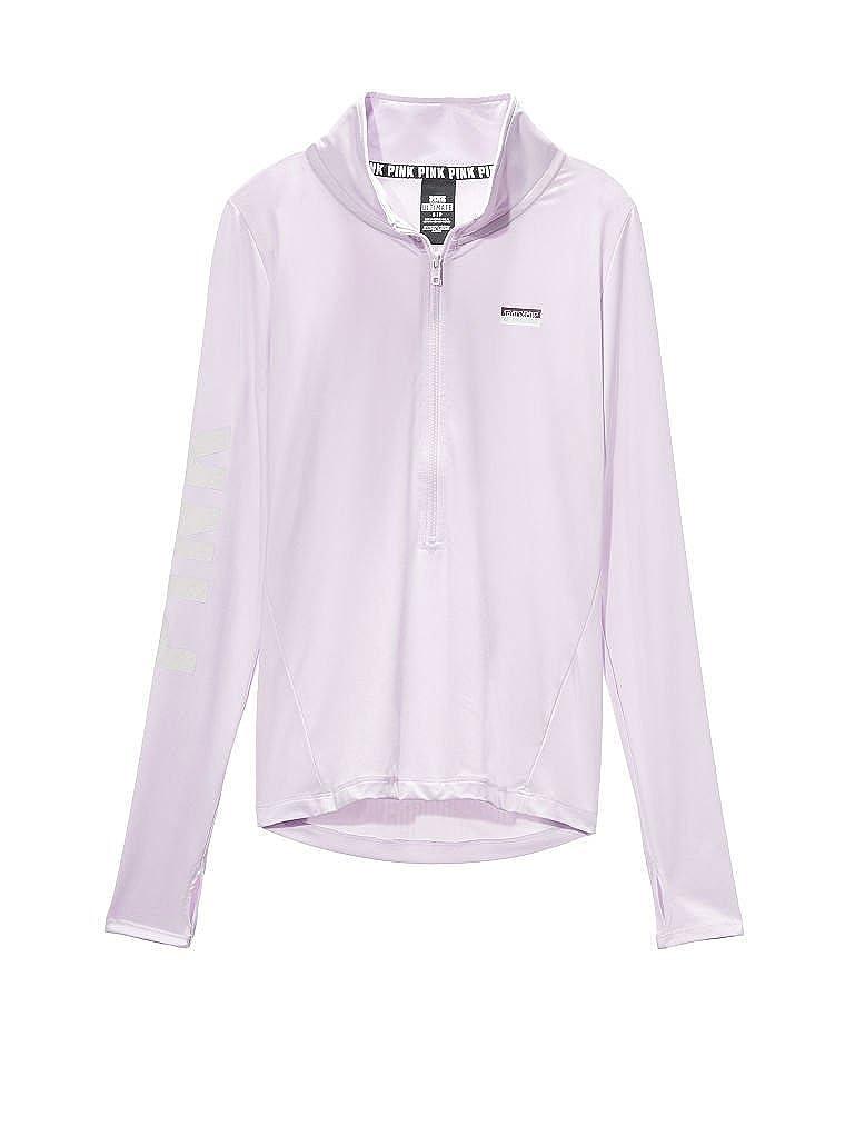 7a1b992214c2d Victoria's Secret Pink Ultimate Deep Half Zip Pullover, Light Purple ...