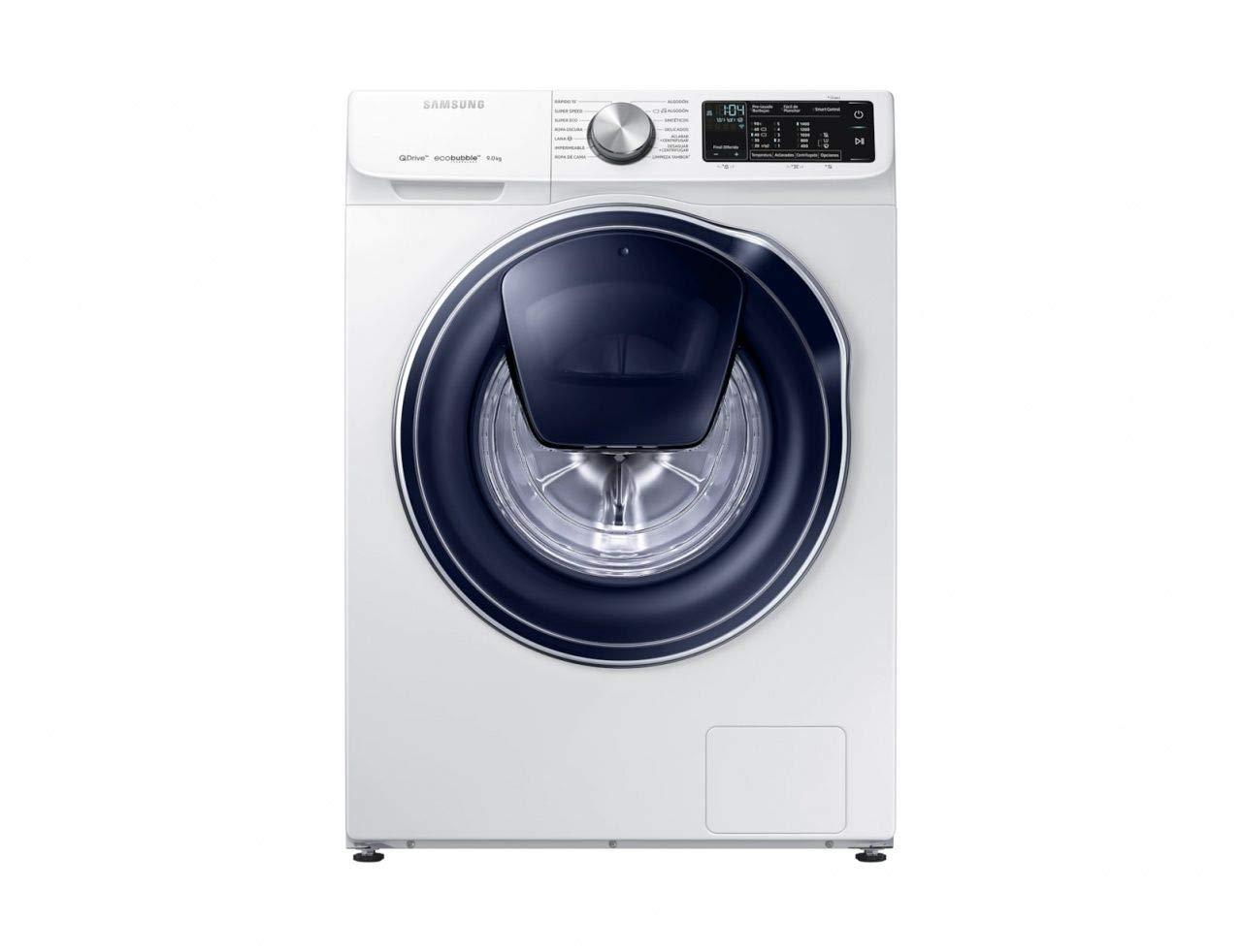 Samsung - Lavadora QuickDriveTM Serie 6 9kg WW90M645OPW, A+++ ...