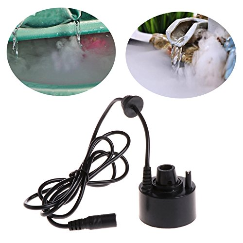 1PC Super Ultrasonic Mist Maker Fogger LED Water Fountain Pond
