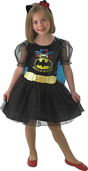 39eb001b7 Hello Kitty Hello Kitty Costume - Batgirl Modern S N/A: Amazon.co.uk ...