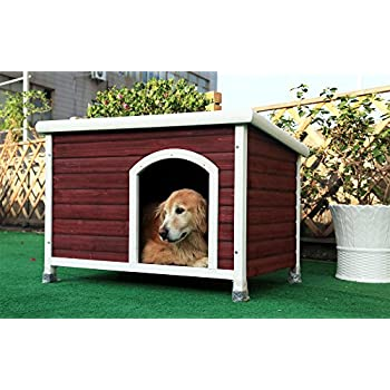 Image of Home and Kitchen Petsfit Dog House, Dog House Outdoor