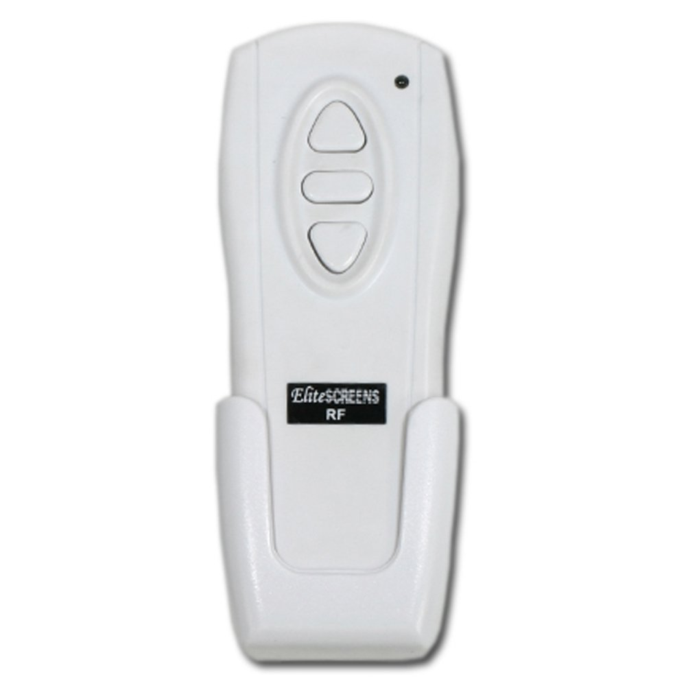 Elite Screens, Radio Frequency (RF) Remote Control for Electric Projection Screens, WHITE