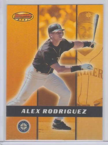 Alex Rodriguez 2000 Bowman's Best Preview Insert Baseball Card #BBP5 Mariners