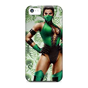Anti-scratch And Shatterproof Jade Mortal Kombat Phone Case For Iphone 5c/ High Quality Tpu Case
