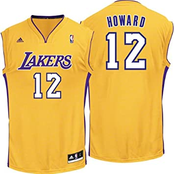 d09ce4872 Amazon.com  Dwight Howard Los Angeles Lakers Gold Replica Jersey XXX ...