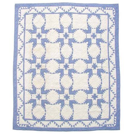 Patch Magic QTFEST Feathered Star, Quilt Twin 65 x 85 in.