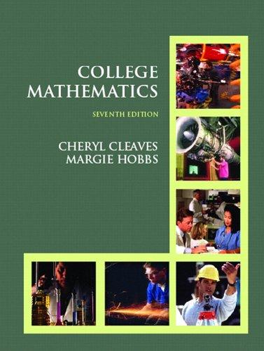 College Mathematics (7th Edition)