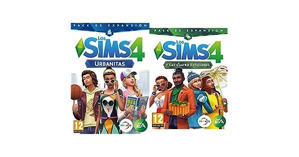 Los Sims 4: Urbanitas (PC) & y las cuatro estaciones (La caja contiene un código de descarga - Origin): Amazon.es: Videojuegos