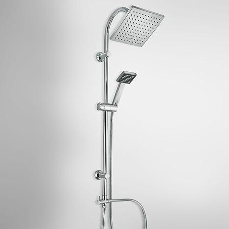 Colonna Doccia: colonna doccia di design con soffione, doccetta e ...