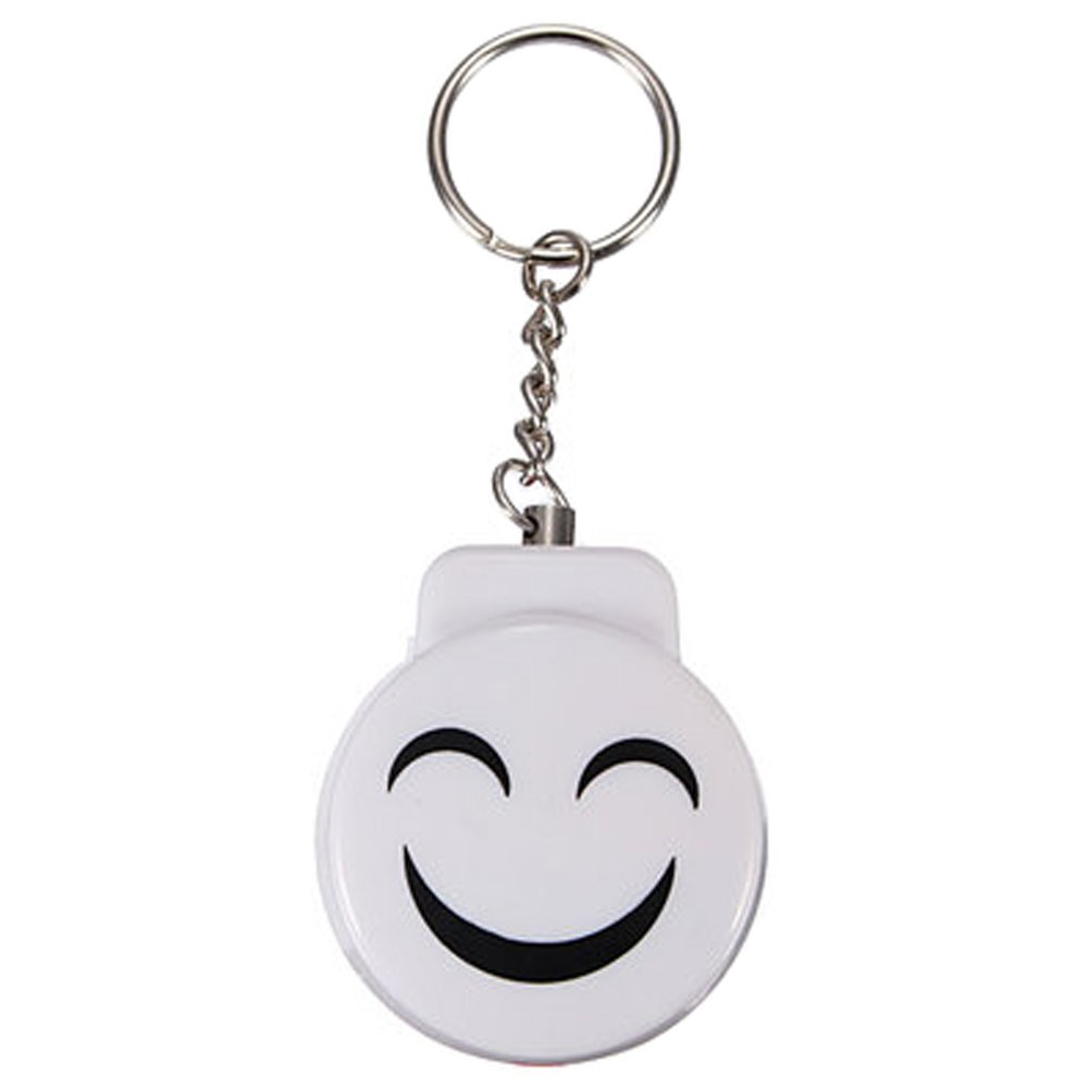 Cute Emergency Self-Defence Electronic Personal Security Keychain Alarm - White Kylin Express