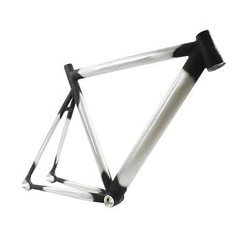 RIDEWILL para cuadro de bicicleta Fixie pista fijo aluminio cónico ...