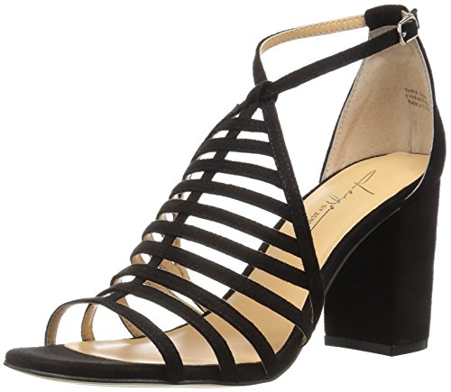 Zendaya Daya Women's Black Dress Sandal by Soda OTf5qwxpT