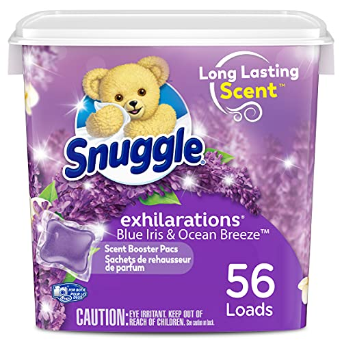 Snuggle Scent Boosters In-Wash Laundry Scent Pacs, Lavender Joy, 56 Count