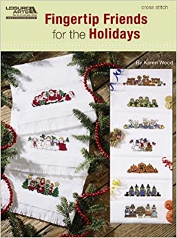 Book Fingertip Friends for the Holidays (Leisure Arts #5521)