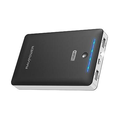 RAVPower Cargador Portátil 10400 mAh (2 A entrada, 3,5 A) de ...