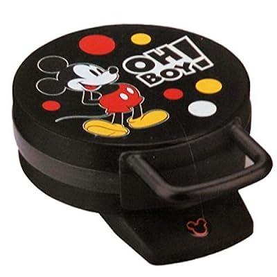 Disney DCM-32 Mickey Mouse Waffle Maker, Black by Disney