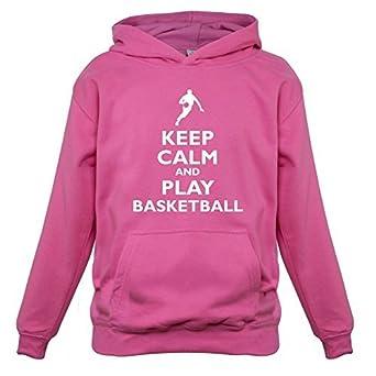 Keep Calm And Play – Balón de baloncesto para niños/sudadera con ...