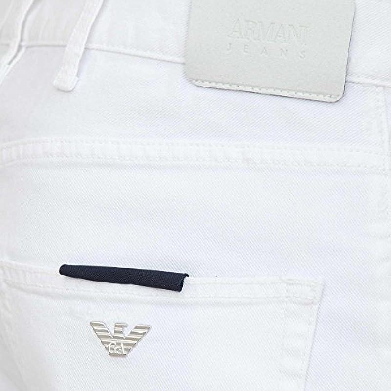 Armani Jeans Denim męskie 3Y6J45 6N26Z+1100 białe: Odzież