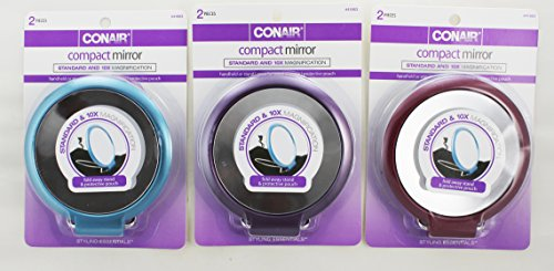 Conair Standard Magnification Compact Mirror