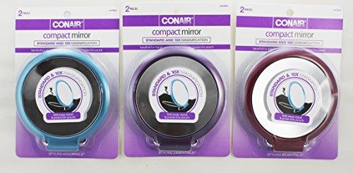 Conair Standard Magnification Compact Mirror