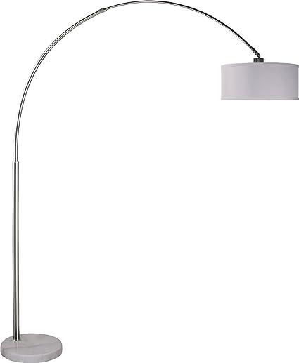 milton greens stars sophia adjustable arc floor lamp with marble base 81 inch