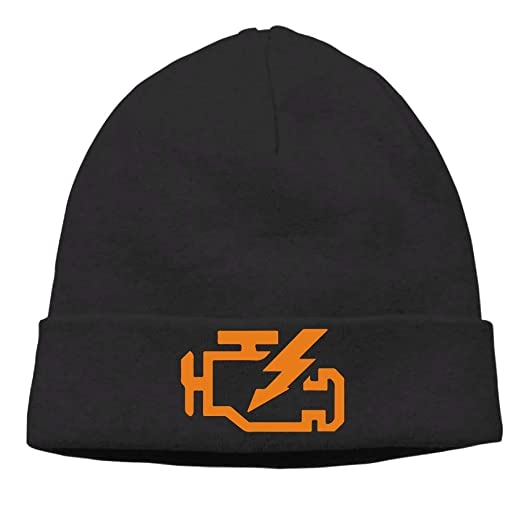 b07ebf12198 Image Unavailable. Image not available for. Color  Kyliel Soft Beanies Cap-Check  Engine ...