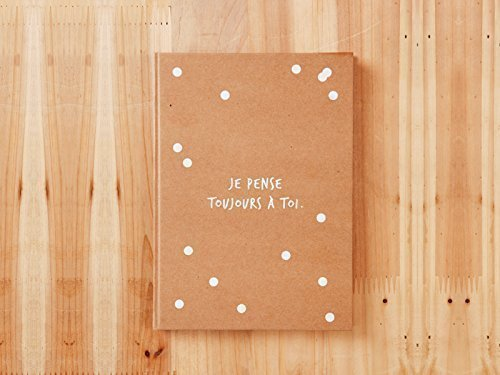 Screen Printed French Words Journal in Kraft Color (Can be use as Diary or Planner) Notebook • Writing Journal • Diary • Bridesmaid Gift • Travel Planner • To do List • 2019 Planner • Planner 2019