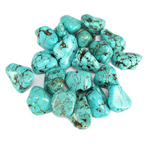 Turquoise Tumbled Stone Gemstone Crystal Healing Rock Wiccan Supplies