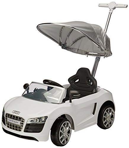 Prinsel Vehículo de Empuje Audi, Color Blanco
