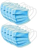 50 Pieces Disposable 3-ply Protection Face Cover