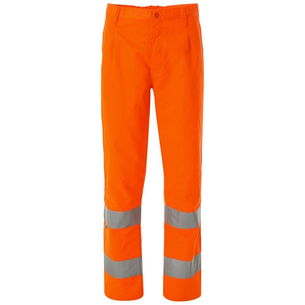 WORK AND STYLE Pantalones de Alta Visibilidad - Lumen