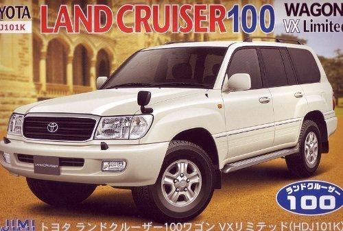 Toyota Land Cruiser 100 (Model Car) Fujimi Inch Up|ID-137