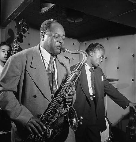 Coleman hawkins miles davis american jazz musicians poster art photo three deuces new york city 1947
