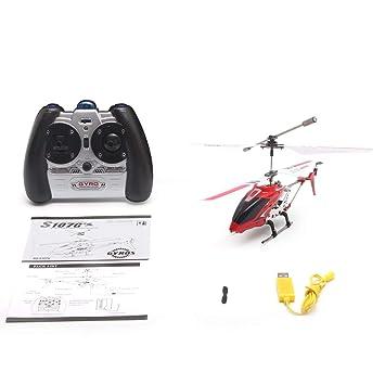 Bunner Original Syma S107G Gyro Metal Radio Infrarrojo 3CH Mini Helicóptero RC Remote Control Flying Drone