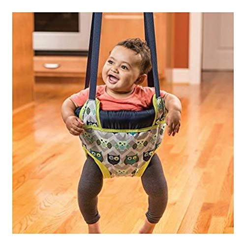 Portable Doorway Jumper, Baby Swing Jump Up Bouncer, Owl