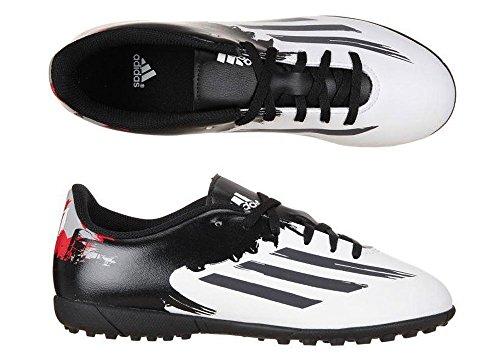 Adidas Messi 10.4 TF Jungen Astroturf Boots Weiß - 30.5