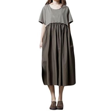 Hochwertige leinen kleider