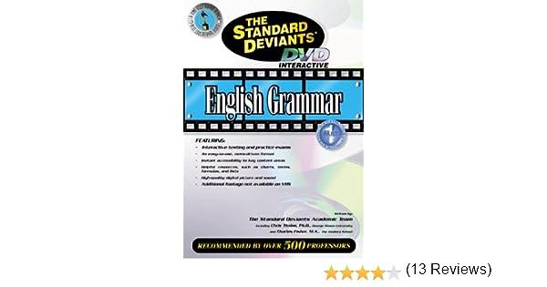 Amazon.com: The Standard Deviants - English Grammar, Part 1 ...