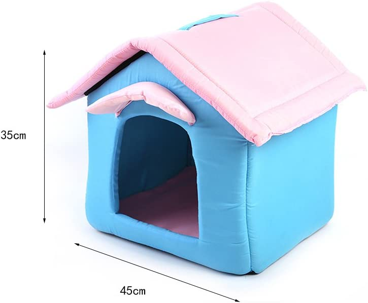 Aqi7 Casa Minimalista Moderna De Mascotas Pequeñas, Nido De Mascotas Mampara De Perro Extraíble Puerta De Perro: Amazon.es: Productos para mascotas