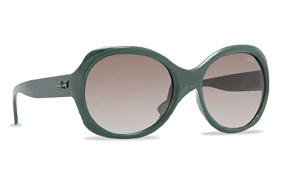 Amazon.com: Ray-Ban Rb4191 Rb4191 Gafas de sol 60098E Verde ...