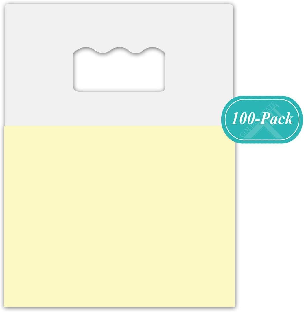 Golden State Art, Mat Hanger Plastic Adhesive HangTabs 100 Count
